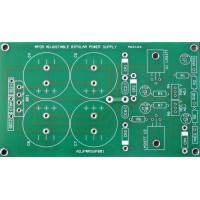 Adj. LM317/LM337 Supply - PCB